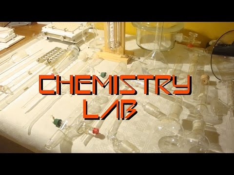 Insane Chemistry Lab - Flea Market Score!