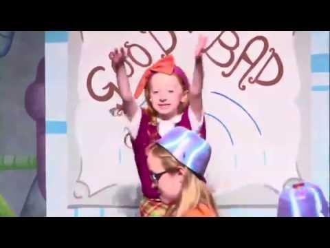 Heather_AH as Veruca Salt in Willy Wonka performing
