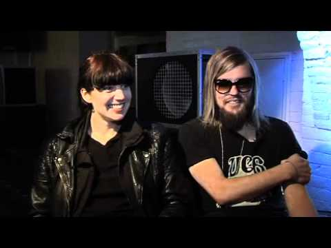 Interview Band of Skulls - Russell Marsden and Emma Richardson (part 1)