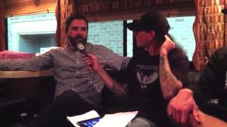 Jesse Leach and Adam D. of Killswitch Engage in The Download Parlor