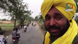 Bhagwant Mann Rally and Road Show Shadihari, Lehra | 17 May 2019
