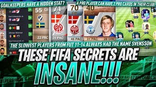 INSANE FIFA SECRETS YOU DIDN'T KNOW!