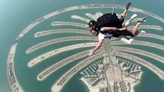 Doorly Jumping out of a Plane @ Skydive Dubai