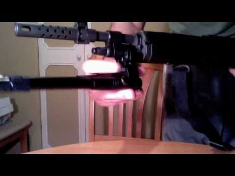 UTG Clamp On BIPOD Low Profile w/ M1A Scout