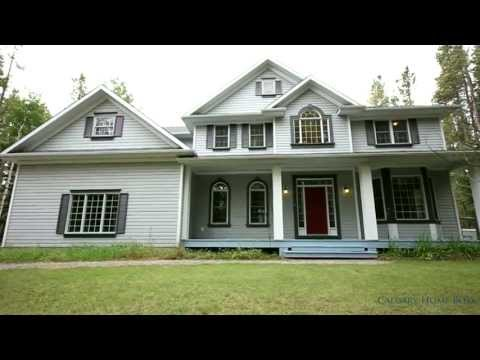 Stunning Residence tucked away minutes from Bragg Creek - Calgary Real Estate Property Video Tour