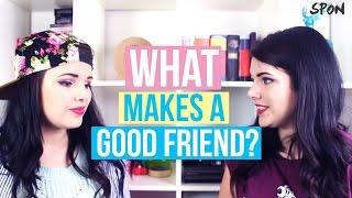 What Makes A Good Friend? | Cherry Wallis