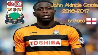 John Akinde ALL 26 Goals 2016-2017 ● │ Barnet FC