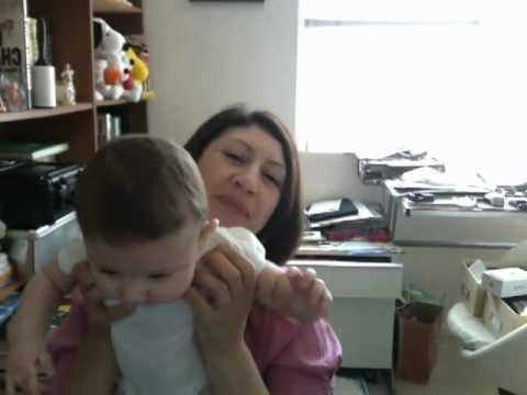 Sofia on iMac cam