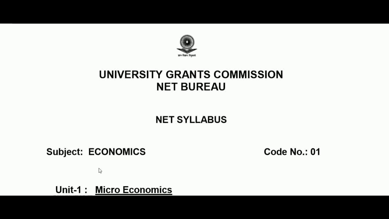 Pdf ugc net syllabus