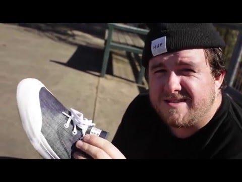 100 Kickflips in the HUF Brad Cromer Shoes