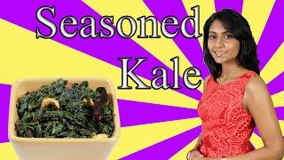 Seasoned Kale: A Super Healthy Kale Dish