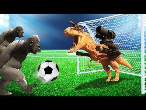 FOOTBALL WITH DEADLY ANIMALS! (Beast Battle Simulator #3)