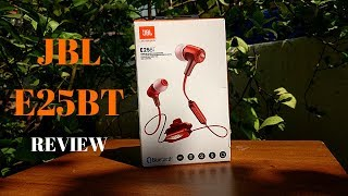 JBL E25BT in-ear Bluetooth headphones Review - Are they worth?