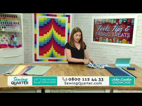 Sewing Quarter - Tools, Tips and fabric Treats - 27th July 2017