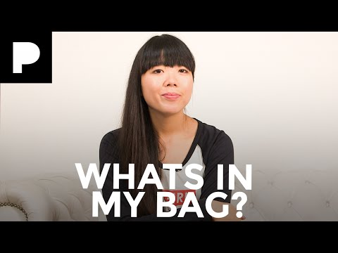 London Fashion Week What's In My Bag - Susie Bubble