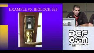 DEFCON 18: Insecurity Engineering of Physical Security Systems: Locks  Lies and Videotape 3/4