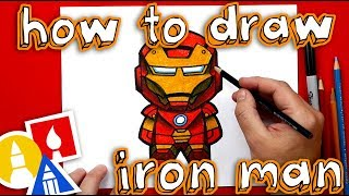 How To Draw Cartoon Iron Man