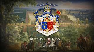"""Royaume de France (1643-1792) Musique de la Court  de Louis XIV """"Marche pour la ceremonie des Turcs"""""""