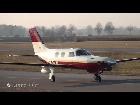 Piper PA-46-350P Malibu Mirage / Jetprop DLX departing Augsburg airport