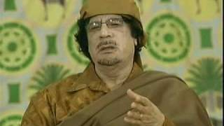 National Webcast with Libyan Brother Leader Muammar al-Gaddafi