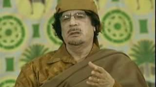National Webcast with Libyan Brother Leader Muammar al-Gaddafi