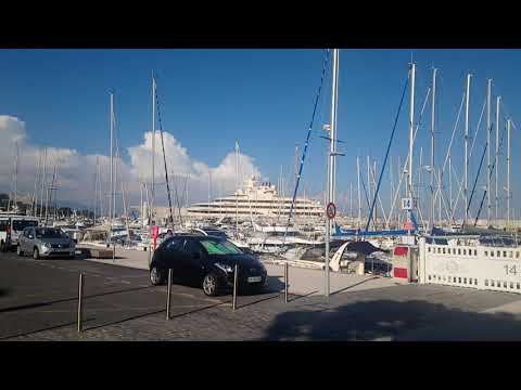 видео: Dilbar. Где припаркована яхта Алишера Усманова