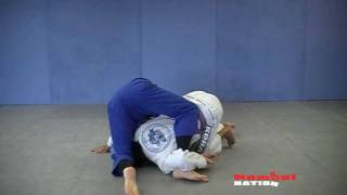 Side Control; Escape roll over to gi choke video by DaveWeinger