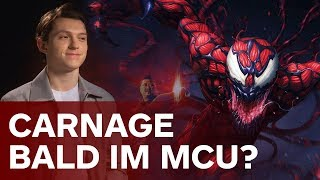 Carnage in Spider-Man: Homecoming 2?  | Avengers: Infinity War Tom Holland