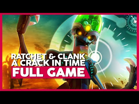 Ratchet And Clank: A Crack In Time | Full Gameplay/Playthrough | PS3 | No Commentary
