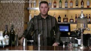 Absinthe Poison Apple Martini