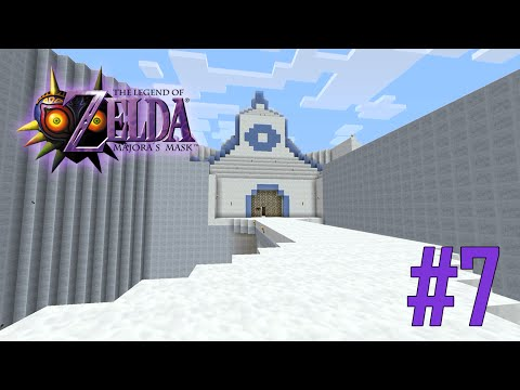 Majoras Mask Legend of Zelda Minecraft Adventure Map - Ep 7 w/Download