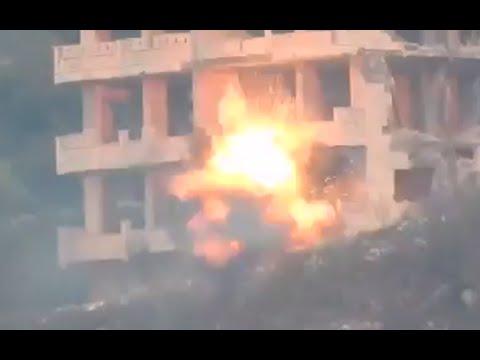 Syria combat footage: