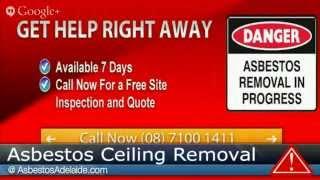 Asbestos Ceiling Removal Adelaide - (08) 7100 1411 - Asbestos - AsbestosAdelaide.com