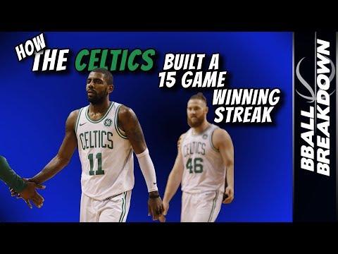 How The CELTICS Built A 15 Game Winning Streak