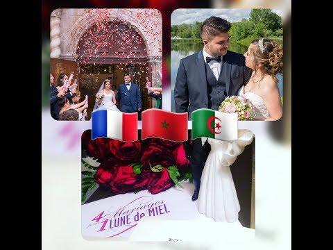 Chirine & Medhi 4 MARIAGES POUR UNE LUNE DE MIEL