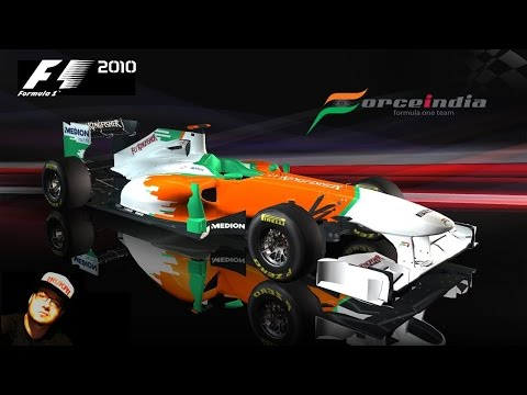 F1 2010 // R19: ABU DHABI-YAS MARINA // FORCE INDIA KARRIER