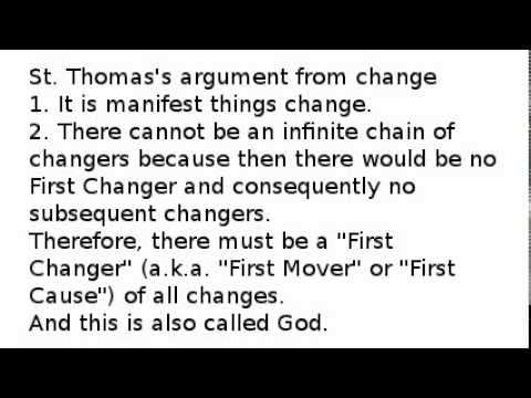 st thomas aquinas cosmological argument essay
