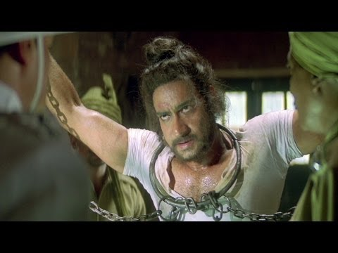 Bhagat Singh Tortured In Jail | The Legend Of Bhagat Singh Scene | Ajay Devgan