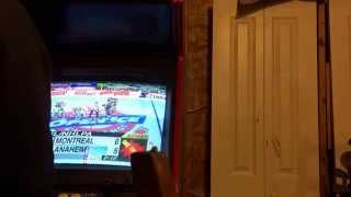 2 on 2 NHL open ice challenge gameplay!!-- retro arcade game of the week