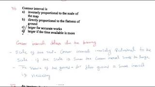SURVEYING SOLVED MCQ WITH EXPLANATION GUPTA & GUPTA BOOK PART-7