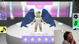 Playing roblox weird happening