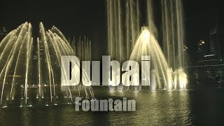 Dubai Fountain show: Celine Dion & Andrea Bocelli - Prayer  ( HD 1080/60P )