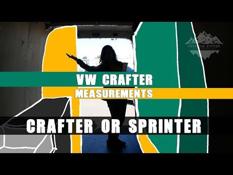 VW Crafter Measurements - Planning to buy our van | Crafter or Sprinter?