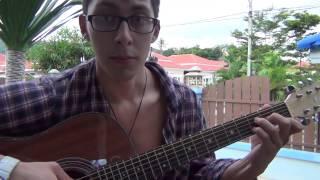 Изгиб гитары желтой видеоурок гитара