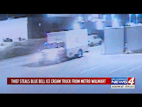 Stolen Blue Bell truck recovered in metro with ice cream untouched