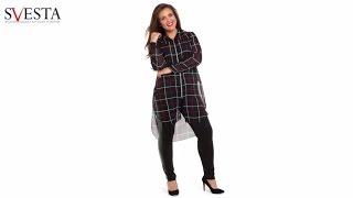 Нарядные блузки для полных женщин '2017(Backstage с фотосессии модного бренда Plus Size SVESTA. Нарядные и деловые блузки больших размеров. Подборка моделей..., 2016-12-19T17:12:28.000Z)