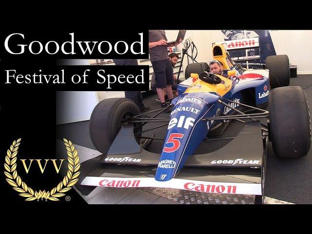 Goodwood Festival of Speed 2017 Walk Around