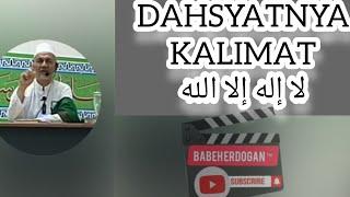 HABIB HUD ALATAS    DAHSYATNYA LAILAHAILLALLAH