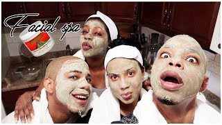 Facials With Da BFFS + Vanity Planet Aera Facial Steamer | BaddieTwinz