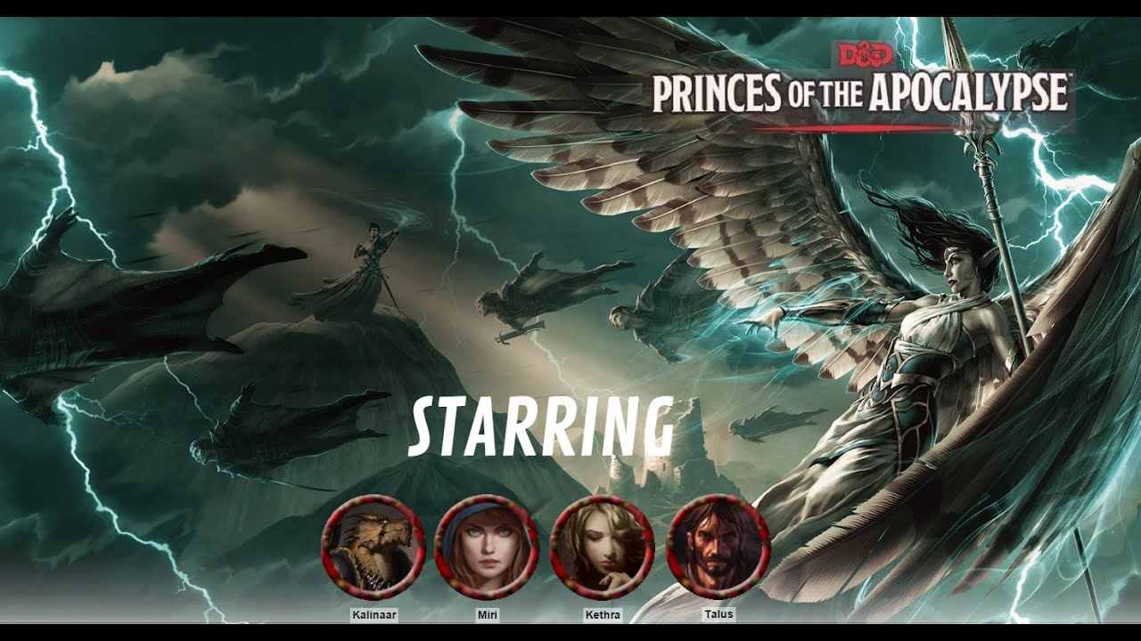 "D&D 5E ""Princes of the Apocalypse"" Session 11 Recap – Eric"